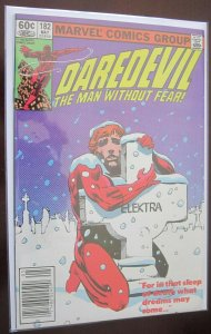 Daredevil ''The Man Without Fear'' #182 7.5 VF- (1982)