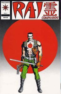 Rai Companion #1 VF/NM; Valiant | save on shipping - details inside