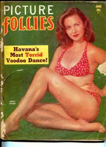 Picture Follies 6/1953-cheesecake-Greta Thyssen-Voodoo Dance-exploitation-FR