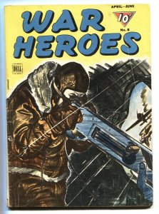 WAR HEROES #8-1944-DELL-Anibal Irizarry-comic book-WWII