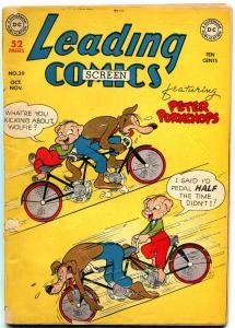 Leading Comics #39 1949- DC Funny Animal- Peter Porkchops