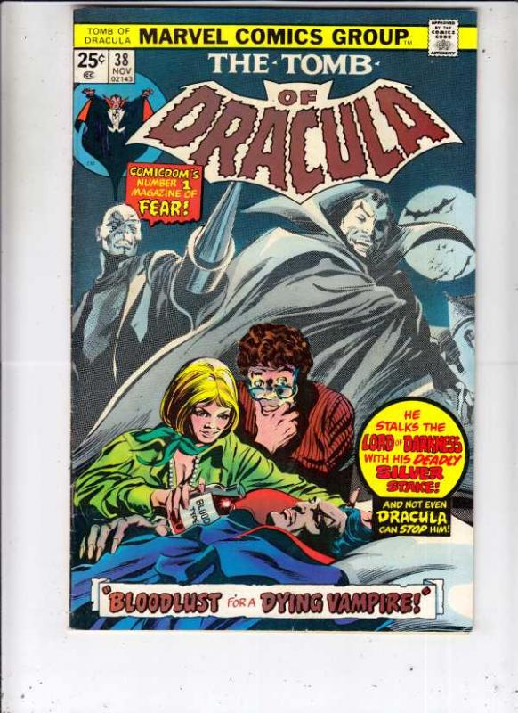 Tomb of Dracula #38 (Nov-75) VF/NM+ High-Grade Dracula