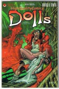 DOLLS #1, NM+, Lorenzo Bartoli, Saverio Tenuta, Indy, 1996, more in our store