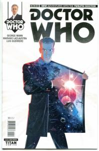 DOCTOR WHO #11 A, NM, 12th, Tardis, 2014, Titan, 1st, more DW in store, Sci-fi