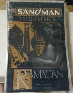 SANDMAN #  50  1993 DC COMICS NEIL GAIMAN   DISTANT MIRRORS  RAMADAN  FOIL COVER