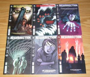 Resurrection #1-6 VF/NM complete series MARC GUGGENHEIM aliens conquer earth