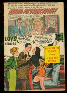 YOUNG ROMANCE #69 1954--WILD LOVE-ROMANCE COMIC ART FR