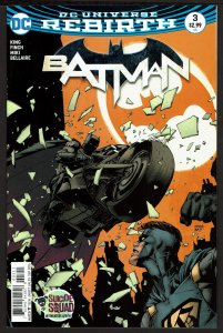 Batman #3 Rebirth (Sep 2016, DC) 0 9.4 NM