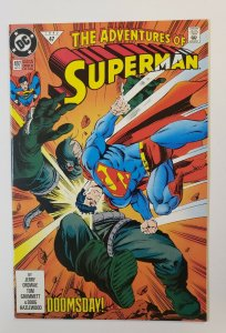 The Adventures Of Superman #497 Doomsday! DC Comics 1992 NM