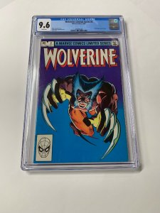 Wolverine Limited Series 2 Cgc 9.6 White Pages Marvel 1982 2060494007 1st Yukio