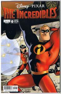 The INCREDIBLES #0 A, NM, Disney Pixar, Boom Studios, 2009, more in store