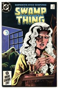 SWAMP THING #33-1985 House of Secrets #92 cover homage