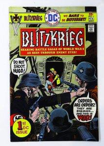 Blitzkrieg (1976 series) #1, VF- (Actual scan)