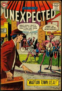 TALES OF THE UNEXPECTED #33 1959 DC MARTIAN TOWN USA VG/FN