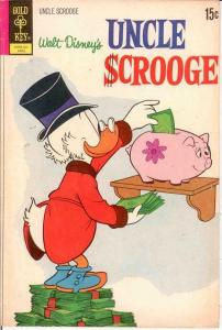 UNCLE SCROOGE 98 VG     April 1972 COMICS BOOK