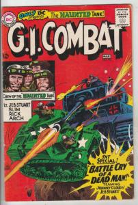 G.I. Combat #116 (Mar-66) FN+ Mid-High-Grade The Haunted Tank