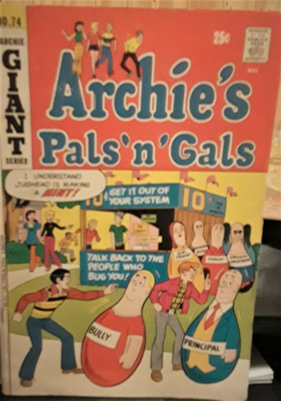 3 COMIC BOOKS-ARCHIE COMICS-PEP/ARCHIE'S PALS 'N' GALS/EVERYTHING'S ARCHIE-1970S