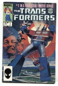 TRANSFORMERS #1 comic book 1984   First issue Marvel