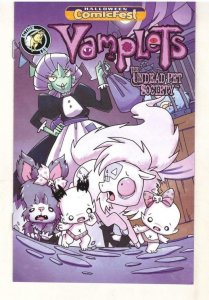 VAMPLETS #1 Halloween ashcan, Promo, 2018, NM, Undead Pet, more promos in store