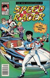 Now THE NEW ADVENTURES OF SPEED RACER #1 VF/NM