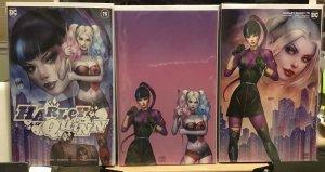 Harley Quinn 75 Set Of 3 Kincaid/Szerdy Gorgeous Set! Punchline Harley Quinn