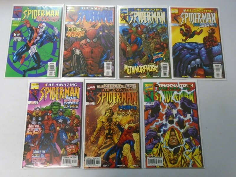 Amazing Spider-Man lot 31 different from #407-441 8.0 VF (1996-98 1st Series)