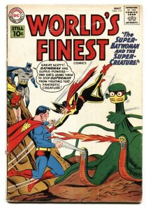 WORLD'S FINEST #117 1961-DC COMICS-SUPERMAN-BATMAN-BATWOMAN-vg