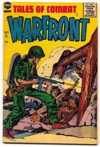 Warfront #29 1956- Kirby cover- Korean War VG-