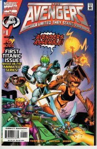 Avengers - United They Stand # 1,5 ULTRON ! BLACK WIDOW !
