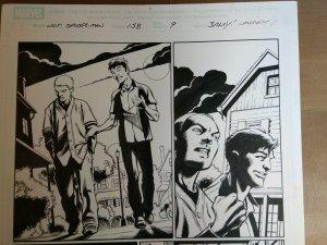 Original Art: Mark Bagley & Andy Lanning - Ultimate Spider-Man #158 pg 9