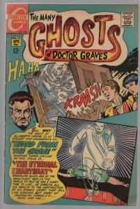 MANY GHOSTS OF DOCTOR GRAVES 13 VG-  April 1969