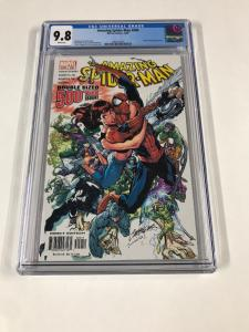 Amazing Spider-man 500 Cgc 9.8 White Pages New Cgc Case