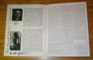 Visions '95 Program VF/NM signed by paul cornell, sophie aldred, darrow and more