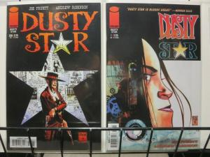 DUSTY STAR 0-1  Pruett & Robinson  Sci-Fi Western story