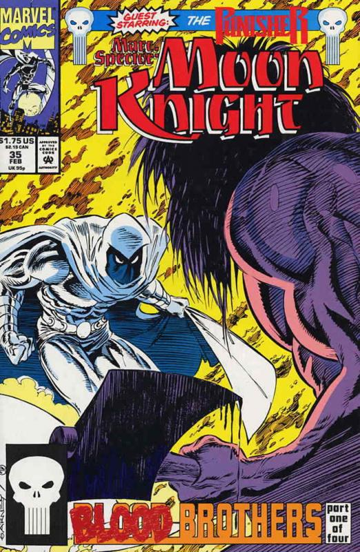 Marc Spector: Moon Knight #35 VF/NM; Marvel | save on shipping - details inside