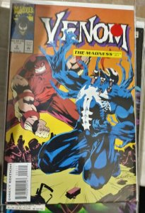 VENOM- THE MADNESS   #2   1996 marvel  MINI SERIES +JUGGERNAUT EDDIE BROCK