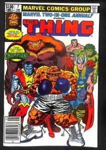 Marvel Two-in-One Annual #7 (1982)