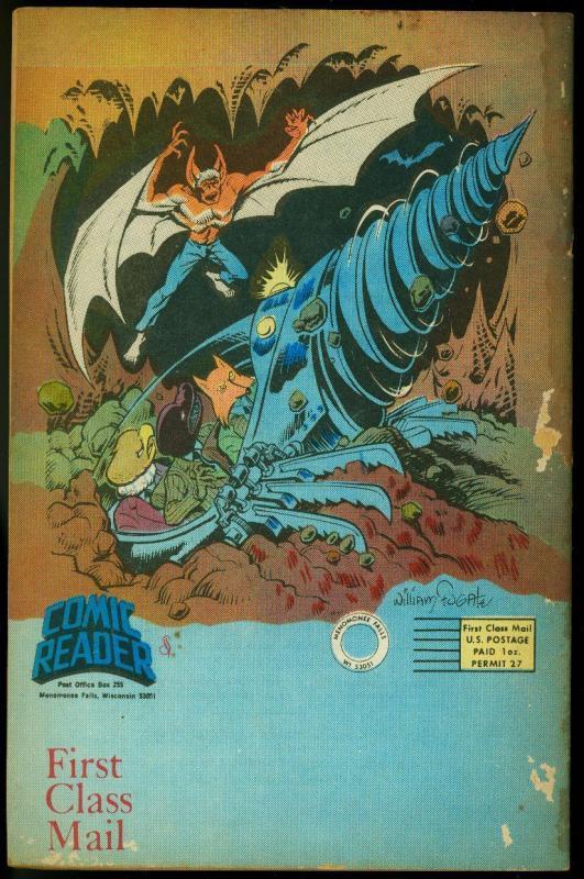 The Comic Reader Fanzine #144 1977- Creeper cover FR/G