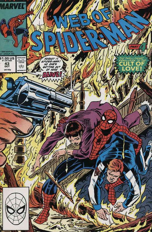 Web of Spider-Man, The #43 VF/NM; Marvel | save on shipping - details inside