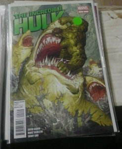 Incredible Hulk # 2 2012 marvel  bruce banner