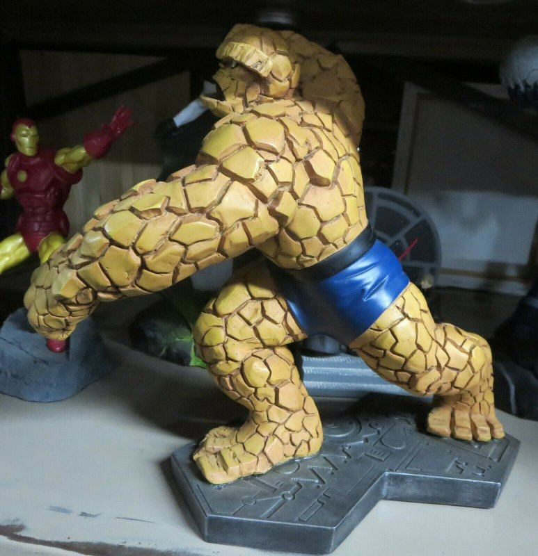 THE THING STATUE by Bowen Designs! 838/4000 NO BOX! Fantastic Four