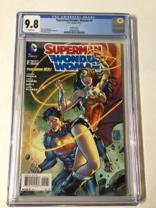Superman Wonder Woman 2 Cgc 9.8 Variant
