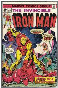 IRON MAN 73 FN- Mar. 1975