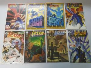 Nexus comic lot sets and singles 37 different issues 8.0/VF