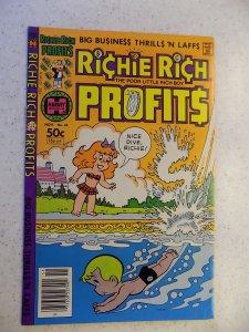 RICHIE RICH PROFITS # 43 HARVEY CARTOON ADVENTURE FUNNY