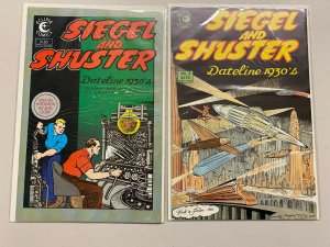 Siegel and Shuster Eclipse Comics Set #1 +2 8.0 VF (1984)