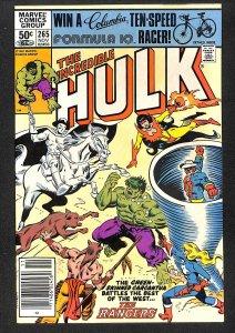 The Incredible Hulk #265 (1981)