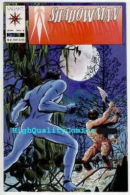 SHADOWMAN #2, VF/NM, Valiant, Jim Shooter, David Lapham, more in store