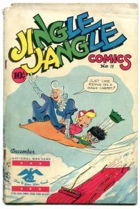 JINGLE JANGLE COMICS #18 1945-CHRISTMAS-GEORGE CARLSON G