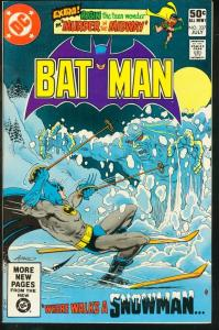 BATMAN #337-1981-DC VF